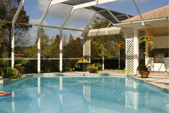Screen Enclosure with Pelican Bay Home Improvement in Naples, Florida